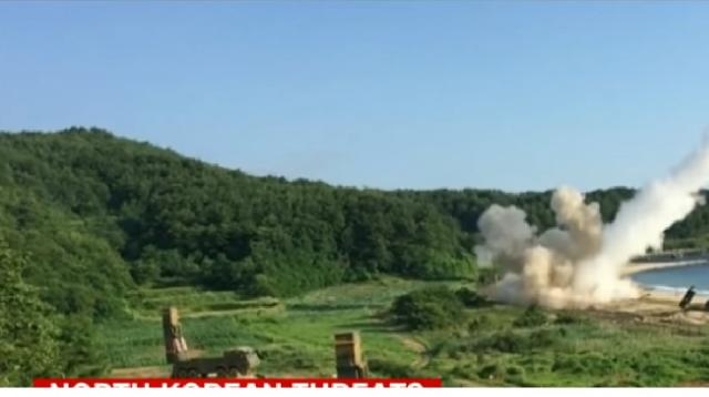 US responds to North Korean missile launch. [Image source/CNN YouTube video]