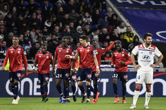 Accroché par Lille (2-2), L'OL conserve sa 3e place mais se ... - eurosport.fr