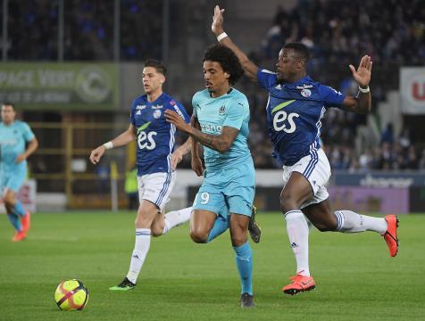 Mandanda et les réactions après Strasbourg-Marseille (1-1) | Goal.com - goal.com
