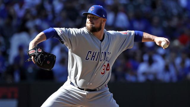 Los Cubs tienen en Jon Lester a su mejor pitcher. MLB.com.