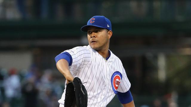 Quintana ha tenido un gran mes de abril. MLB.com.