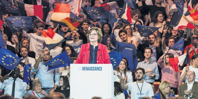 Européennes : premier meeting poussif pour En marche et Nathalie ... - lejdd.fr