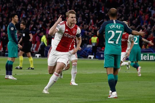 El Ajax parecía tener definida la llave con el 2-0 en el primer tiempo. www.andina.pe