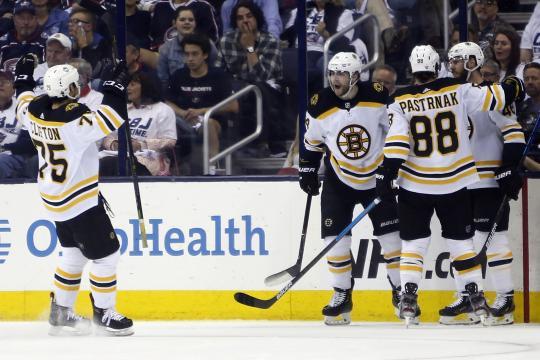 Los Bruins están a 4 triunfos de regresar a pelear por la Stanley Cup. - bleacherreport.com