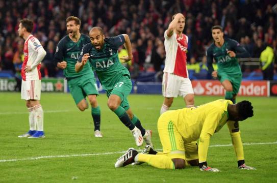 Moura fue el héroe que mandó al Tottenham a la final. - info7.mx