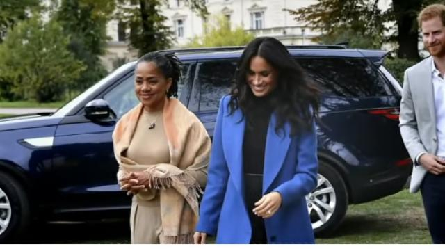 Public to get 1st look at Prince Harry, Meghan's baby boy. [Image source/Good Morning America YouTube video]