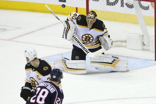 Tuuka Rask fue una muralla para los Bruins en el juego 6. www.bostonglobe.com