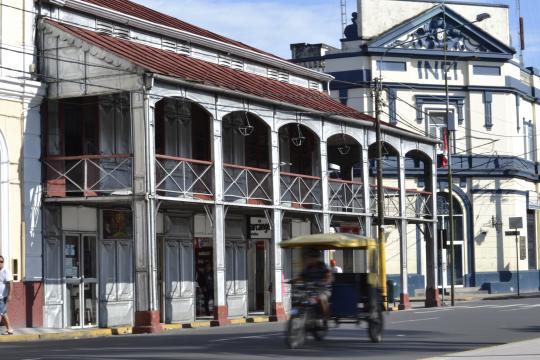 La Casa de Fierro en Iquitos, Perú