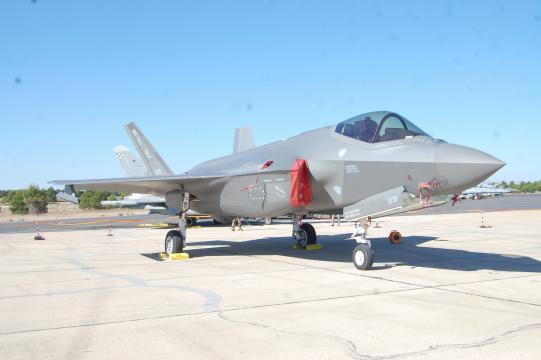 Las poliédricas líneas del F-35 aseguran su
