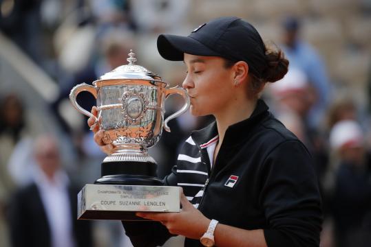 Barty será ahora la 2 del mundo en el ranking de la WTA. www.pressherald.com