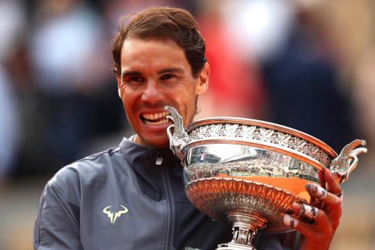 Nadal es el rey del polvo de ladrillo en Roland Garros. - standard.co.uk