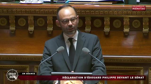 Discours intégral d'Édouard Philippe devant le Sénat - Vidéo ... - dailymotion.com