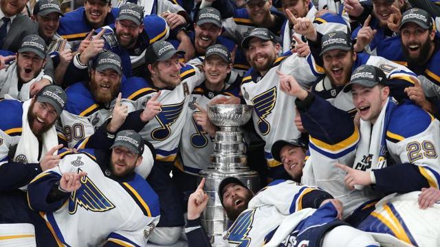 Los Blues ganaron la primera Stanley Cup en su historia. NHL.com.