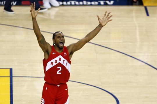 Kawhi arruinó otro tricampeonato en la NBA. www.washingtonpost.com