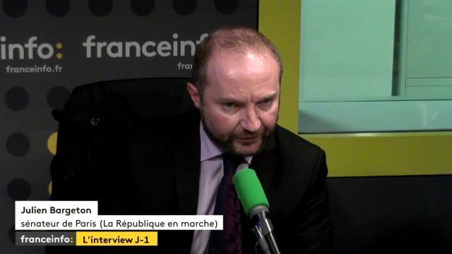 Julien Bargeton, sénateur LREM de Paris :