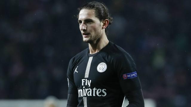 PSG : Adrien Rabiot est un ancien fan de Marseille - blastingnews.com