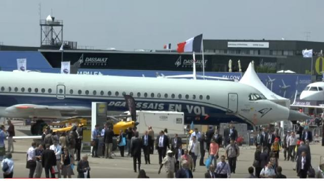 Paris Air Show 2019 brings electrical powered planes to the forefront. [Image source: Jane's by HIS Markit YouTube]