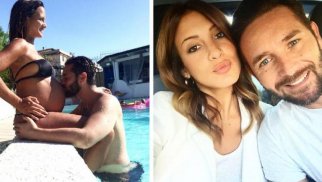 Emanuele D'Avanzo e Alessandra De Angelis sempre più innamorati.