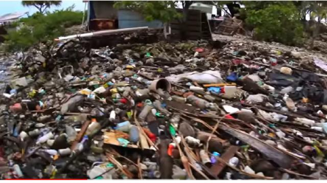 Plastic in the Ocean. [Image source/United Nations YouTube video]