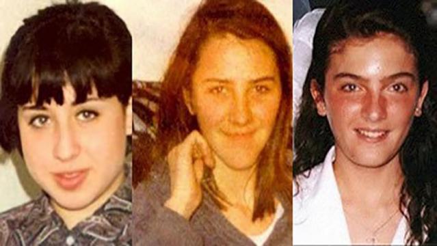 Toñi, Desiré y Miriam, las tres niñas desaparecias