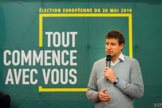 Européennes à Perpignan - Yannick Jadot défend le plan vert face ... - madeinperpignan.com