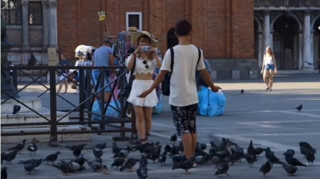 Has tourism killed Venice? [Image source/The Telegraph YouTube video]