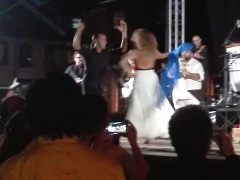 Ballo della Taranta e orchestra.