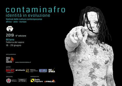 'Contaminafro, identità in evoluzione' fino al 29 giugno a Milano.