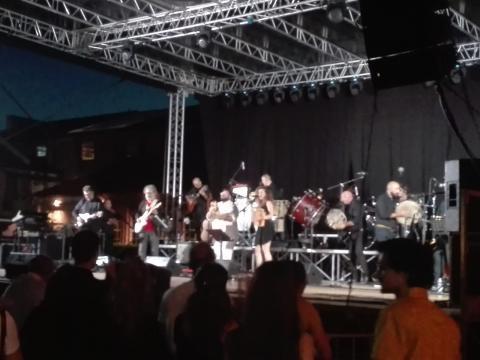 L'orchestra diretta dal Maestro Daniele Durante.