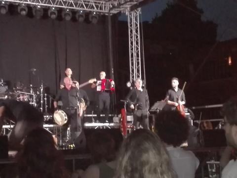 La Notte della Taranta e l'orchestra popolare.