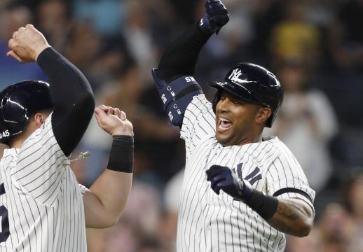 Los Yankees establecieron el récord de HR por partidos consecutivos. www.arkansasonline.com