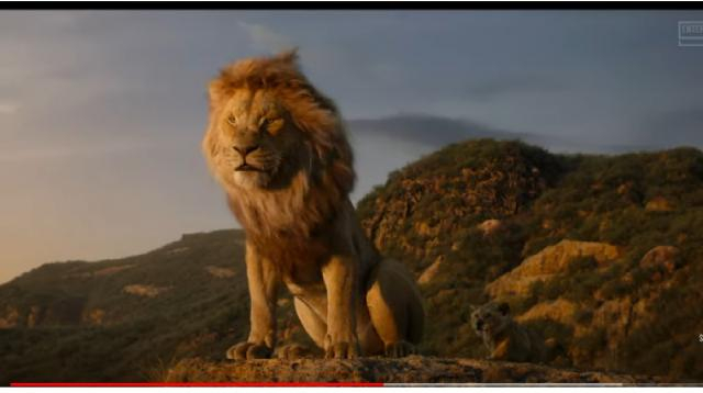 The Lion King - Trailers (2019) [Image source/Entertainment Access YouTube video]