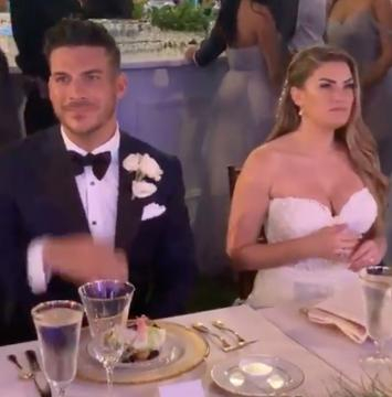 Jax Taylor and Brittany Cartwright are seen at their Kentucky wedding.