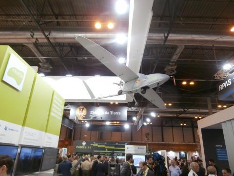La variedad de drones y sus distintas prestaciones fue patente en la cantidad de modelos presentados.