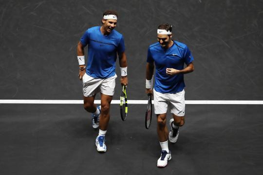 Rivais dentro de quadra, Nadal e Federer são bons amigos fora do tênis. (Arquivo Blasting News)