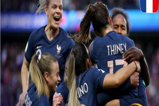 Mondiali femminili, Francia-Corea del Sud