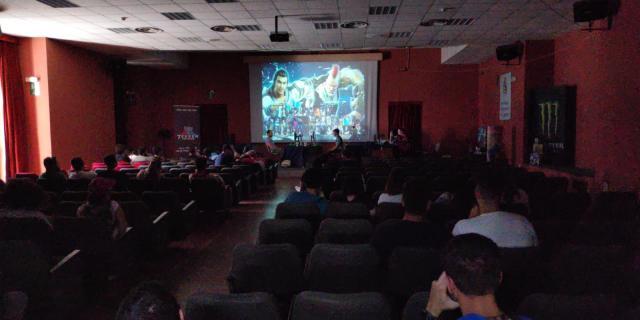 Etna comics 2019 sala tornei videogiochi