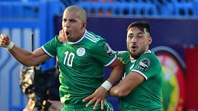 Argelia está en semis de la Copa Africana. www.goal.com