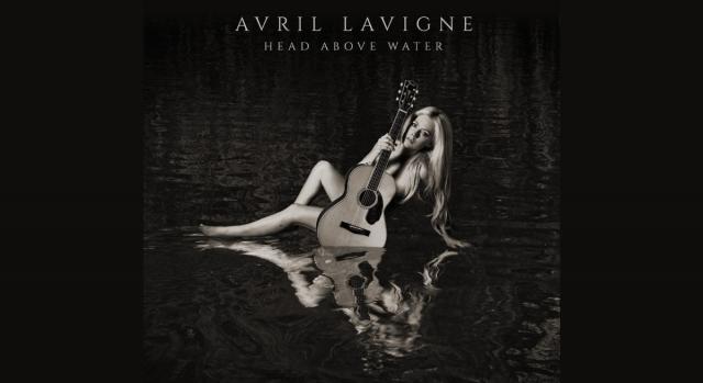 Avril Lavigne e la cover del suo sesto album 'Head Above Water'.