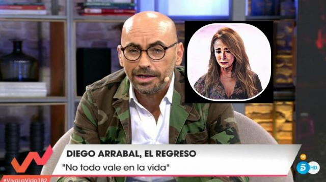 Diego Arrabal ataca a María Patiño por la exclusiva de Albert Rivera y Malú