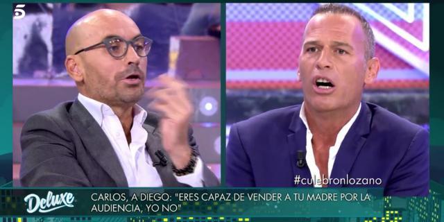 La enorme bronca entre Carlos Lozano y Diego Arrabal: