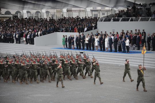 Los soldados de la Brigada