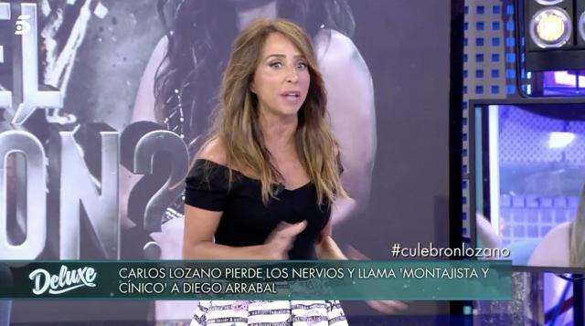 María Patiño recurre a un método clásico para frenar una trifulca ... - yahoo.com