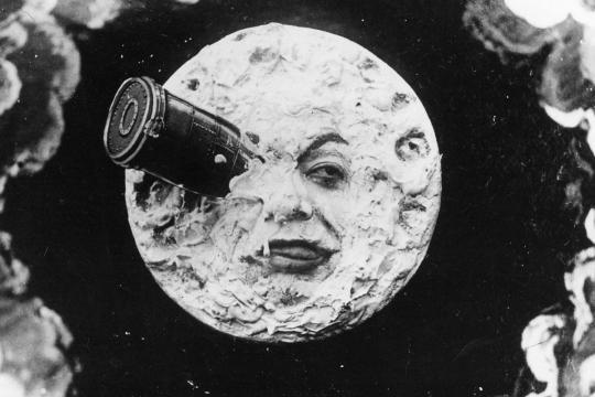 Celebre copertina del film 'Viaggio nella Luna' di George Melies - Photo Muse.