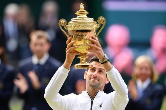 Djokovic alcanzó su 5to título en Wimbledon. www.andina.pe