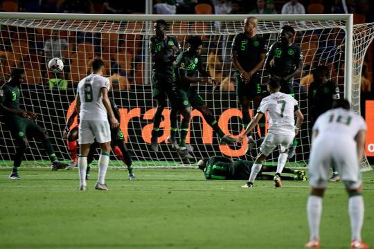 El golazo de Mahrez le dio el pase a los argelinos a la gran final. www.marca.com