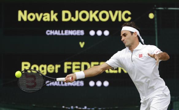 Federer se quedó cerca de su 9no trofeo en el All England Club. www.elcomercio.pe