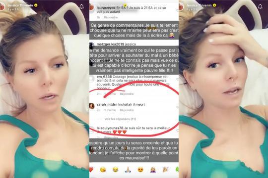 Jessica Thivenin : Une internaute souhaite la mort de son bébé ... - nextplz.fr