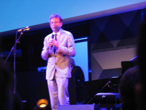 Assessore Filippo Del Corno al Midnight Jazz Festival per rappresentare il Comune di Milano