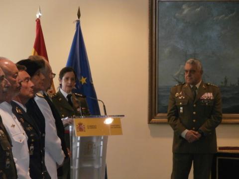 La nueva general resalto en su discurso su ascenso como un mérito colectivo